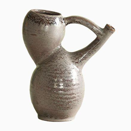 Französische Vase oder Krug von Les Potiers d´Accolay, 1950er Jetzt bestellen unter: https://moebel.ladendirekt.de/dekoration/vasen/tischvasen/?uid=b198f781-27dd-508f-ab66-d7898bf2cb19&utm_source=pinterest&utm_medium=pin&utm_campaign=boards #tischvasen #vasen #dekoration