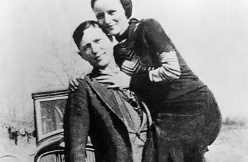 Bonnie and Clyde, the good-looking outlaws very much in love, were ambushed by police officers outside Gibsland, Louisiana 75 years ago, on May 23, 1934. Trapped in their car, they went down in a hail of bullets and their 21-month-long crime spree of robbing gas stations, restaurants and local banks came to an end.