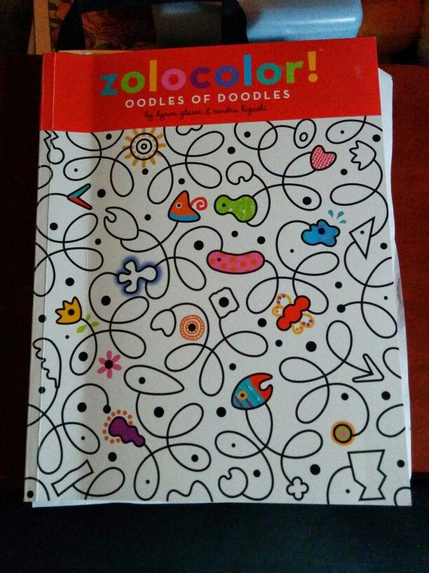 Zolocolor Oodles Of Doodles Multi Book Color Doodle Big Got It On Sale At Sams Club For 9 Very Creative Inspiring When Youre Blocked Or Just