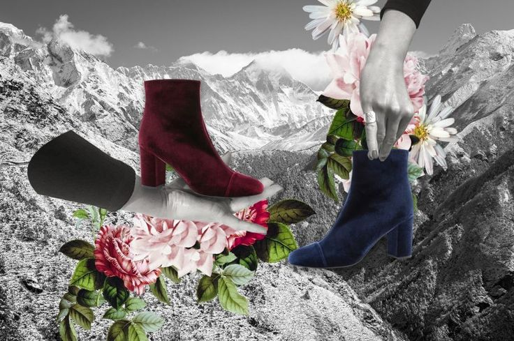 MOROBE' x The Blonde Salad boots.