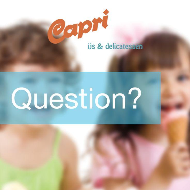 Wij hebben hoorntjes, wafels en bekertjes met ijs, wat is jouw favoriet?