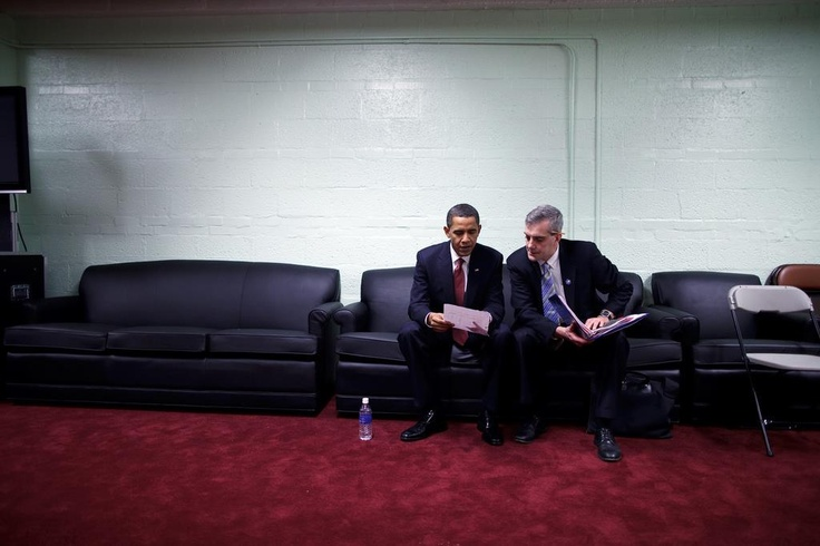 SJU alumnus Denis McDonough, '92, was appointed by President Barack Obama to the position of White House chief of staff.  Official White House Photo: Pete Souza