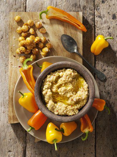 Macadamia hummus | food and drinks | Pinterest