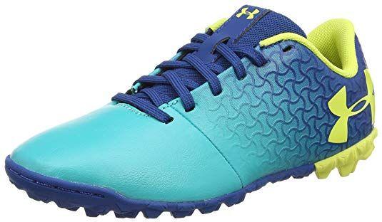 477165d1807a2 Amazon.com | Under Armour Magnetico Select JR Turf Soccer Shoe, Teal ...