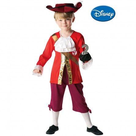 Boys Captain Hook Pirate Costume