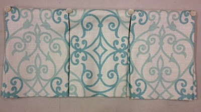 Sew Passionate: Kick Pleat Valances