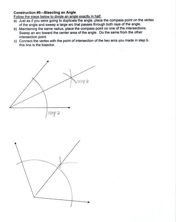 Geometric Constructions Worksheet Math Circle Construction Worksheets Math Worksheets Mathletics Student App Math Notebooks Math Solver Math Calculator