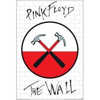 It's just another brick in the wall... $8.99 - Pink Floyd - The Wall Logo Poster