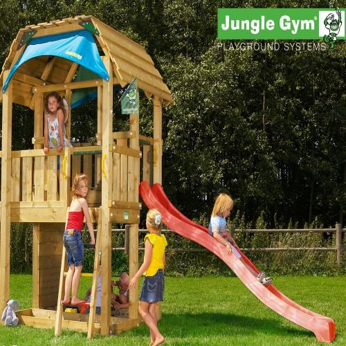 Jungle Gym Barn - Wooden Climbing Frames for Children #wooden climbing frames for kids see more at www.woodenclimbingframe.co.uk
