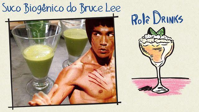 O Sabor da Vida: Suco Biogênico do Bruce Lee