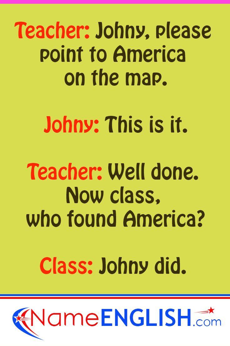 Classroom Jokes Nameenglish English Jokes Classroom Jokes Learn English