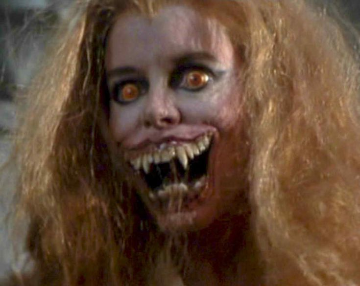 Amanda Bearse as Amy Peterson in Fright Night - transformed. Click to see the transformation.
