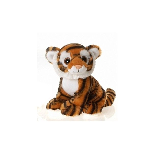 Tegg the Big Eyes Tiger Stuffed Animal by Fiesta at Stuffed Safari (94 NOK) ❤ liked on Polyvore featuring plush