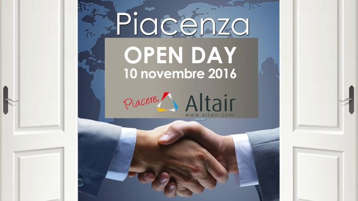 Open Day:  Piacere, Altair! | Spin