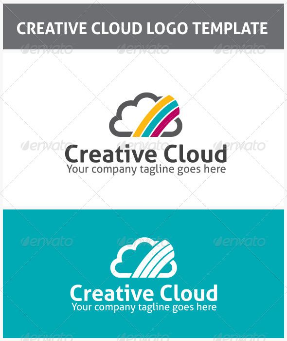Creative Cloud Logo - Nature Logo Templates