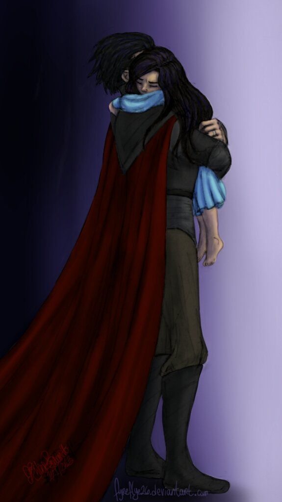 Rise of the Guardians (2012) - Fan Art - Pitch - Daddys little girl: colored by ~fyreflye26 on deviantART
