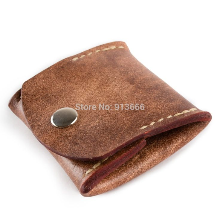 Genuine Leather Coin Purse Wallet Pouch by Handmade Unique Vintage Brown Color For Men Women Gift-in Coin Purses from Luggage & Bags on Aliexpress.com | Alibaba Group