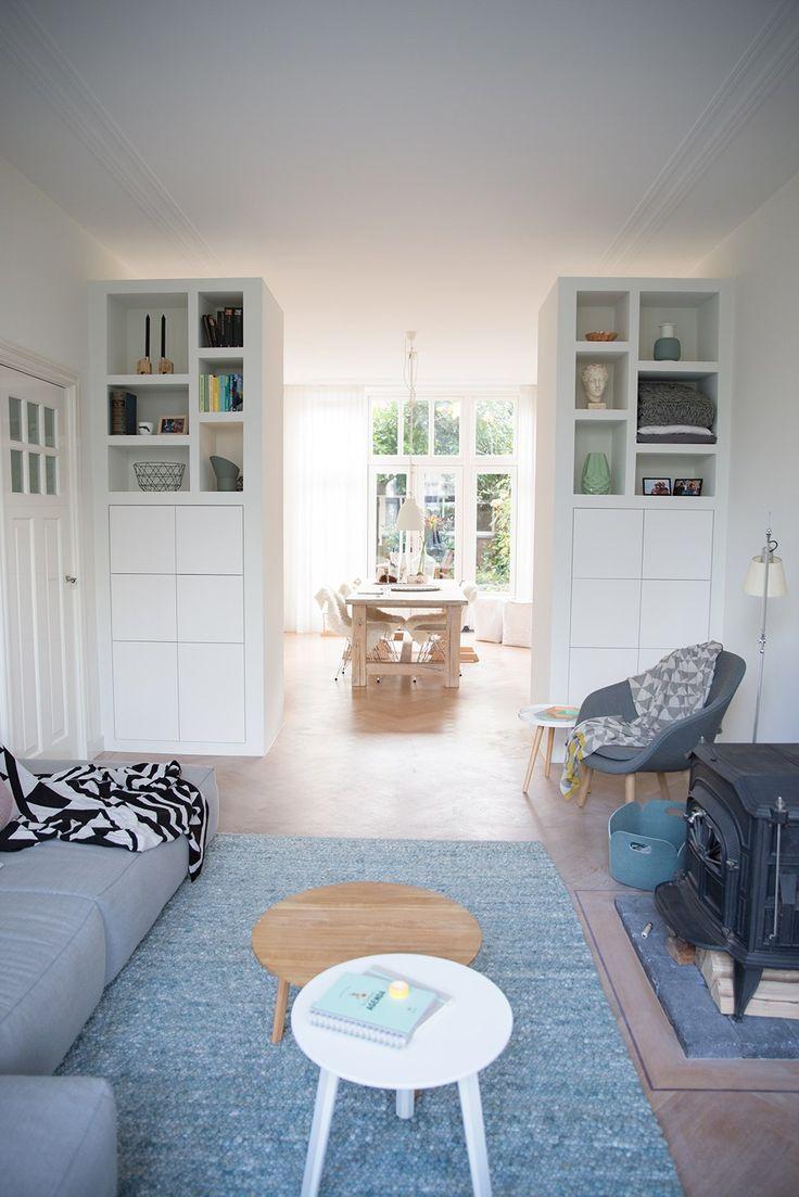 living - eetplaats Femkeido Interior Design - Woonhuis Delft