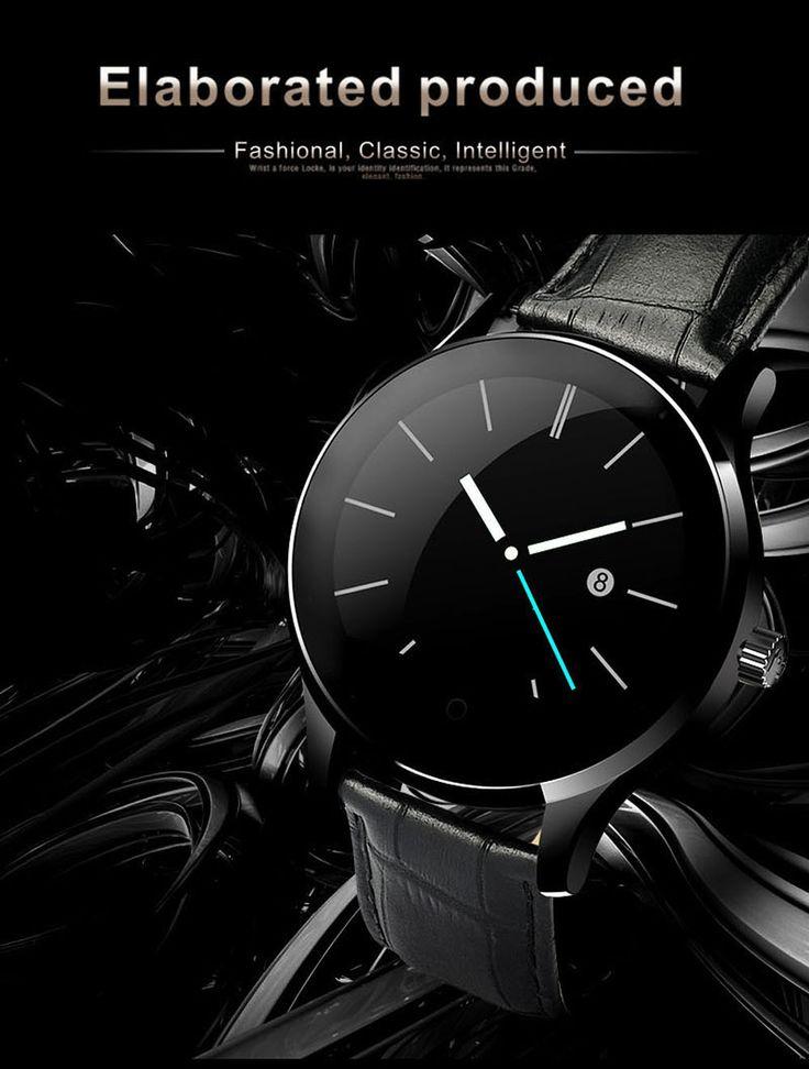 64.90€ Εξαιρετικά κομψό έξυπνο ρολόι πολυτελείας. Στρογγυλό SmartWatch με δερμάτινο μαύρο λουράκι και οθόνη IPS, συμβατό με iOS και Android και σε συσκευασία δώρου. Αγοράστε τώρα το δικό σας ή για δώρο ακολουθώντας εδώ http://buynowcy.com/index.php?rt=product/product&path=33&product_id=636#utm_sguid=187384,113593b9-98ae-79da-89a3-19837bfbc8a7 ή messenger ή 96777906 Δωρεάν παγκύπρια αποστολή με αντικαταβολή. Buy now this Luxury Elegant Circle #SmartWatch with Leather Strap for i#OS #Android…