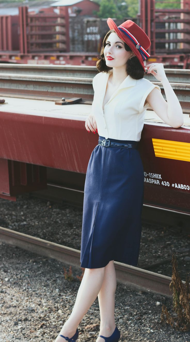♥ this look from the ModCloth Style Gallery! Cutest community ever. #indie…