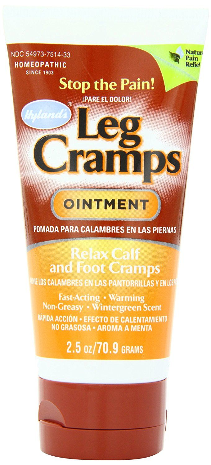 Hyland's Leg Cramp Ointment, Natural Homeopathic Calf, Leg and Foot Cramp Relief, 2.5 Ounce >>> Startling review available here  : Herbal Supplements