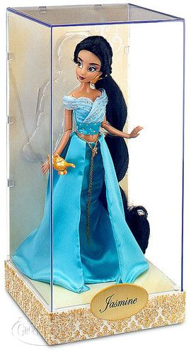 Disney Store Princess Designer Collection Aladdin Jasmine Doll