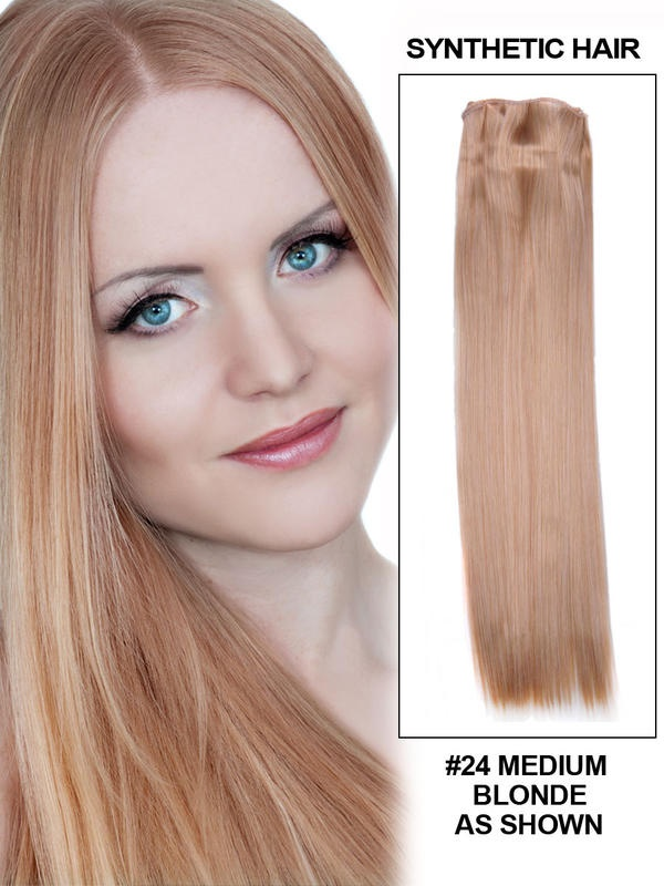 Flexi – 21″ Silky Straight Synthetic Hair Extensio…