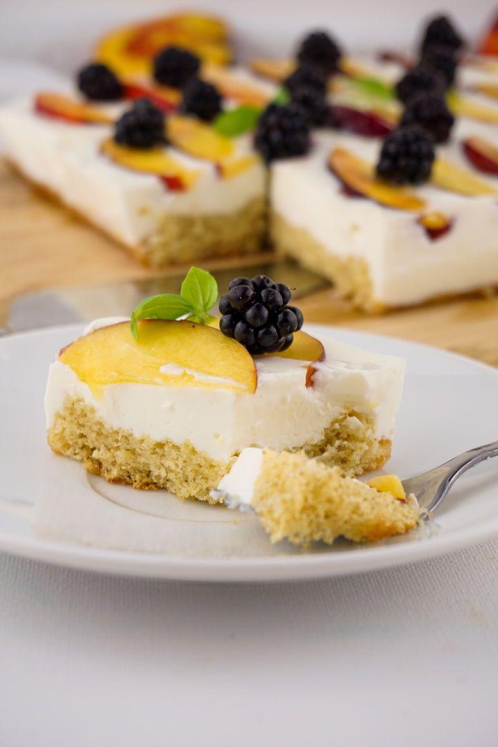 Kalorienarmer Joghurt Quark Kuchen Mit Fruchten Zuckerfreies Rezept Zuckerfreie Rezepte Rezepte Kuchen Ohne Zucker