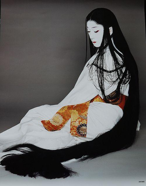 National Living Treasure of Japan, BANDO Tamasaburo, Kabuki actor。坂東玉三郎。人間国宝。
