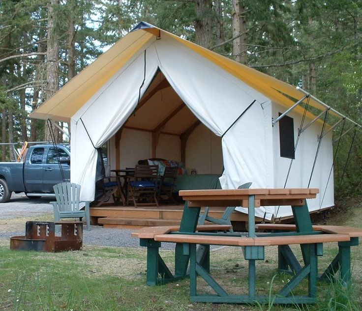 1000 ideas about canvas tent on pinterest bell tent for Tent platform design