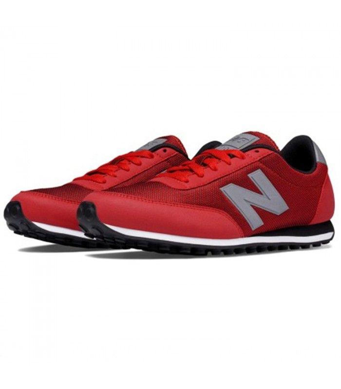 new balance u410 zapatillas rojo