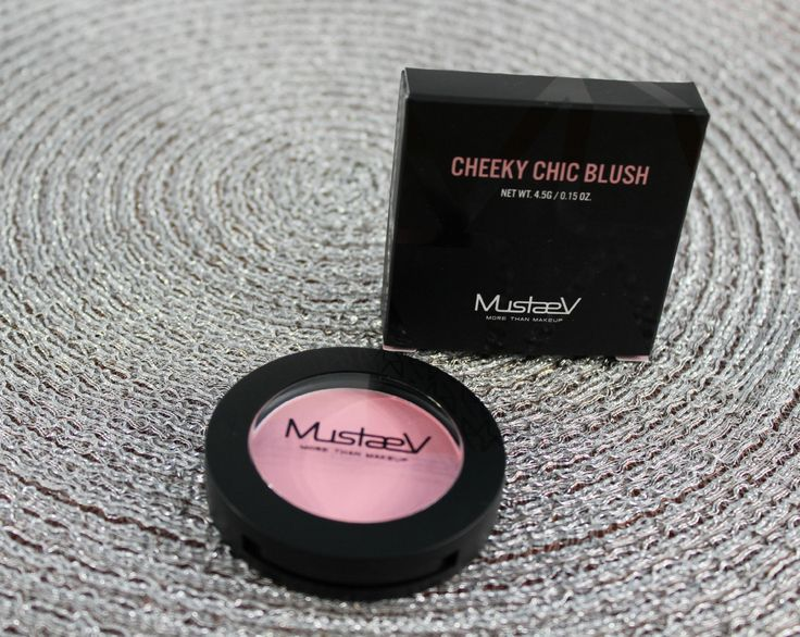 MustaeV Cheeky Chic blush in Floral Glow - review