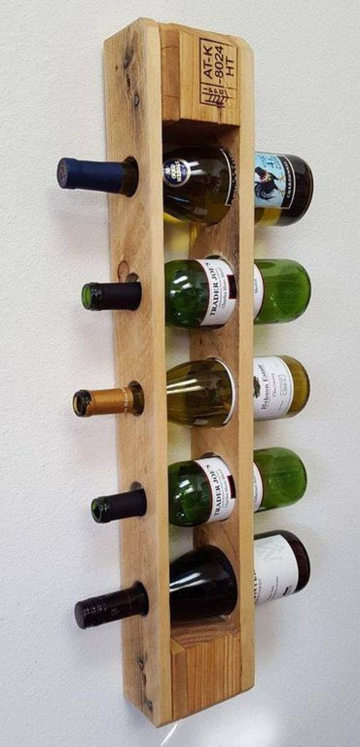 25 cool wall mounted wine racks with images palette
