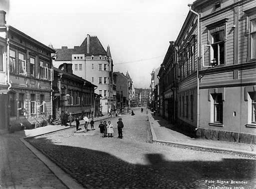 Signe Brander: Iso Roobertinkatu, 1908  © Helsingin kaupunginmuseo