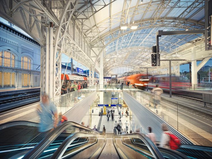Austria - Transit  Salzburg Central Station – together with Vienna Central Station – is one of two large-scale projects bringing the capital expenditure program of the ÖBB to c...
