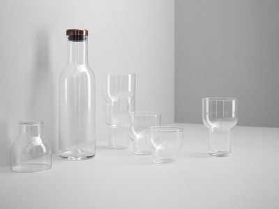 Stackable Glass by Norm is likely to be your new every-day/fine-day/fancy-dinner-day glass. Lovely in it's aesthetics, clever in style and a nice companion by all tables.  http://www.wgu.com.au/product/stackable-glass/