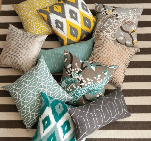 Patterned Pillows: Bedroom? Living Room?