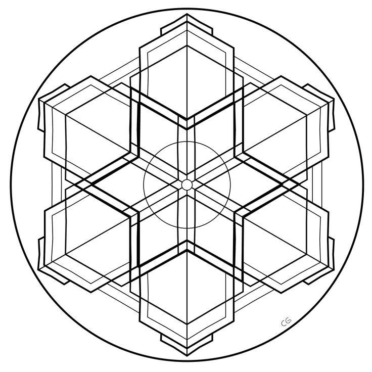 30 Best Images About Geometric Mandala Design Patterns On
