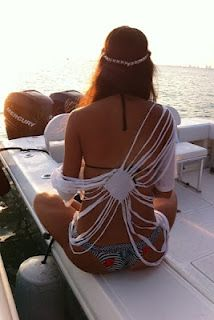 T~shirt into beach cover up..