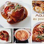 recette Mole au poulet