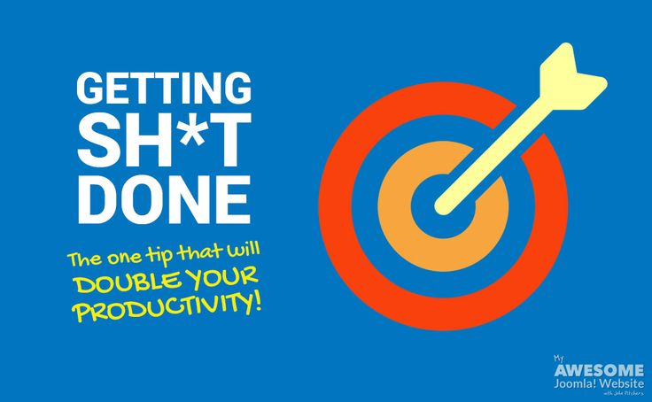 You can throw out the action plans, productivity apps and Pomodoro timers. Just do this one thing for a dramatic increase in productivity.