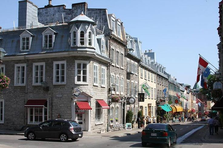 Québec City's streets bring an Old World feel to North America. Image by Derek Hatfield / CC BY 2.0