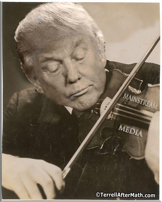 Trump plays the media!