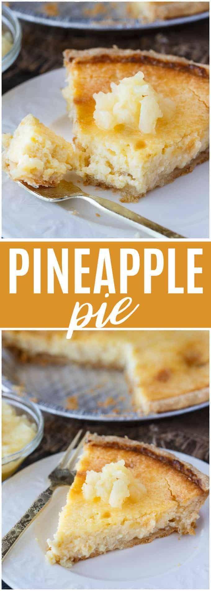 Ananaskuchen – Cremig, geschmeidig und tropisch! Dieser Kuchen ist einfach zuzubereiten und gua …   – FOOD