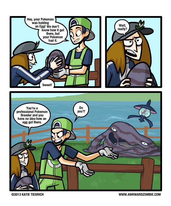 Katie Tiedrich's comics pokemon - Google Search