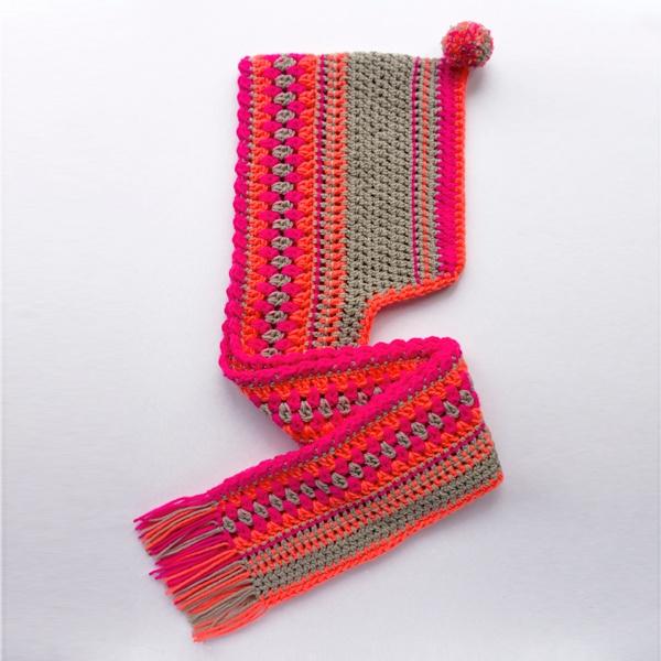nom vol van kleur handgemaakte sjaals en workshops | kindersjaals