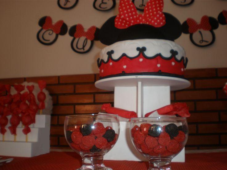 la mesa de golosinas  Cumpeaños Minnie Mouse by Dulcinea de la fuente www.facebook.com/dulcinea.delafuente.5  https://www.facebook.com/media/set/?set=a.117305701748719.33441.100004078680330&type=1&l=b380a10ba8  #fiesta #golosinas  #cumpleaños #mesadulce #festejo #fuentedechocolate #agasajo#mesa dulce #candybar #sweet table  #tamatización #souvenir #minnie