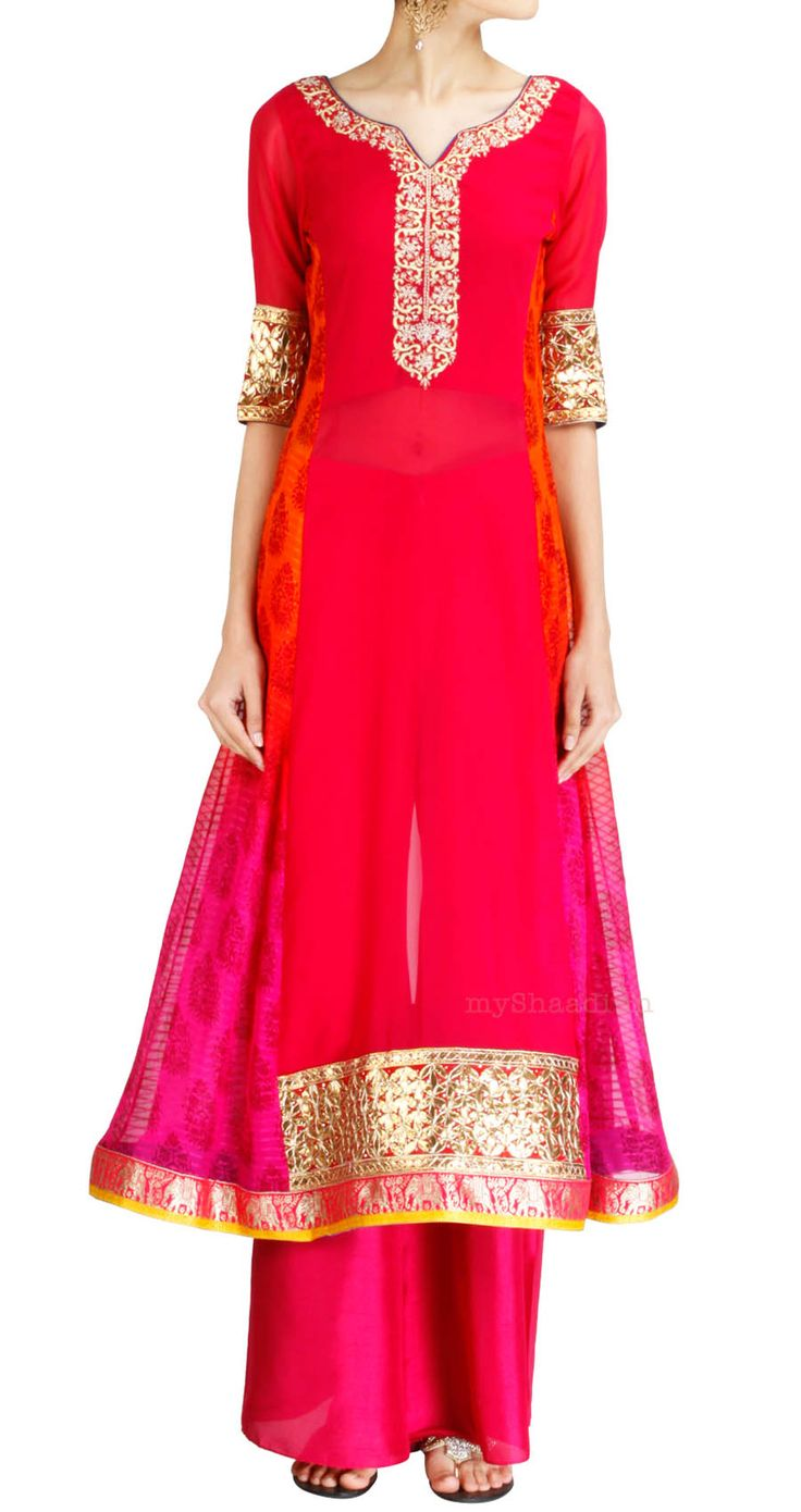 Indian Bridal Wear by Ohaila Khan | Myshaadi.in#bridal wear#india#bridal lehengas#designer bridal outfits#indian wedding