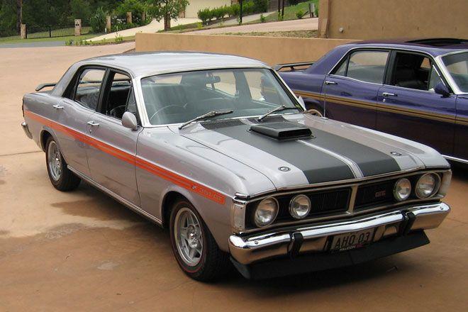 1971 Ford Falcon XY GT-HO Phase 3 Sedan