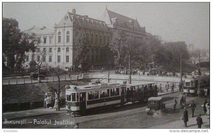 Bucuresti, Palatul Justitiei, 1925